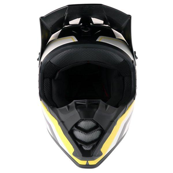 Bell SX-1 Storm Yellow Helmet Front