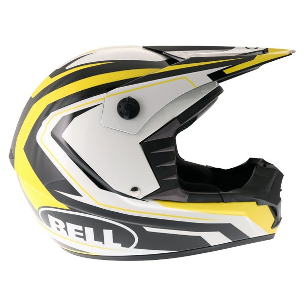 Bell SX-1 Storm Yellow Helmet Right Side