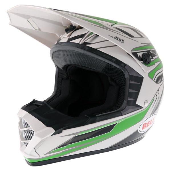 SX-1 Switch Helmet Green Motocross