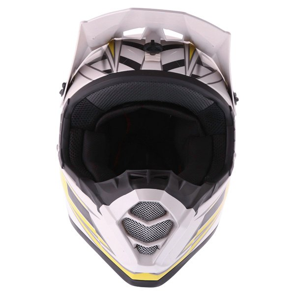 Bell SX-1 Switch Yellow Helmet Front