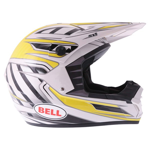 Bell SX-1 Switch Yellow Helmet Right Side