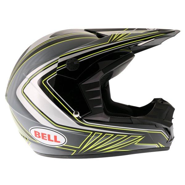 Bell SX-1 Sonic Black Yellow Helmet Right Side