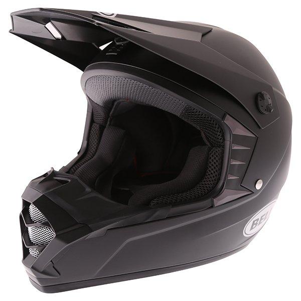 SX-1 Helmet Matt Black Motocross