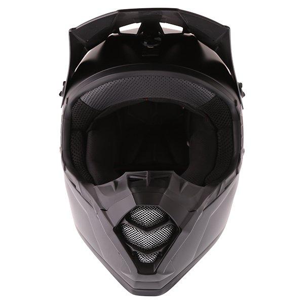Bell SX-1 Matt Black Helmet Front