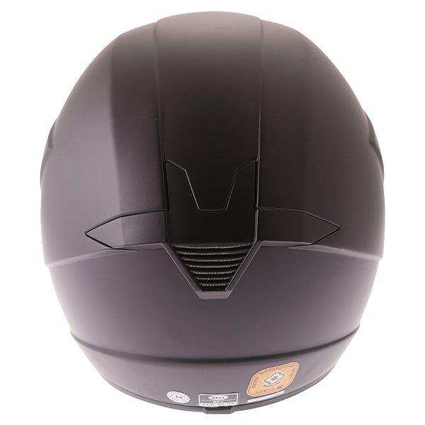 Bell SX-1 Matt Black Helmet Back