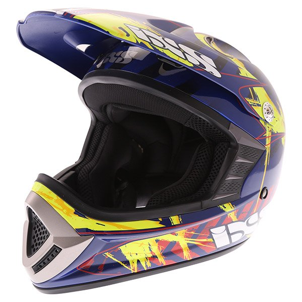 HX 276 Ice Helmet Blue Red Yellow Motocross Helmets