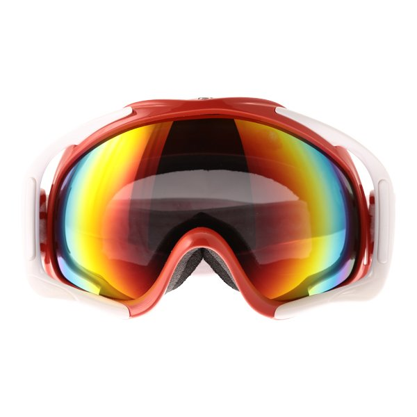 Dirty Dog MX Outrigger Red White Red Fusion Goggles Front