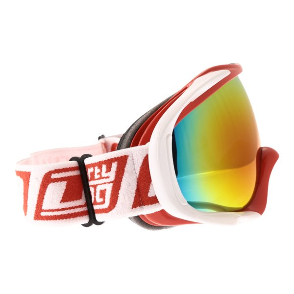 Dirty Dog MX Outrigger Red White Red Fusion Goggles Right Side