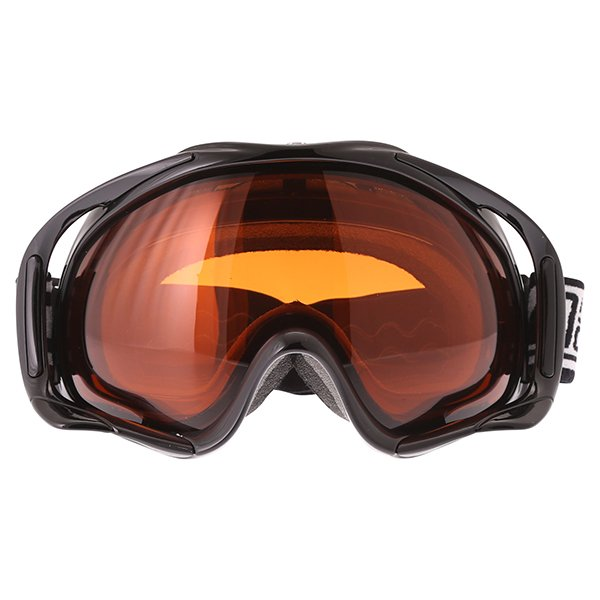 Dirty Dog MX Outrigger Black Orange Goggles Front
