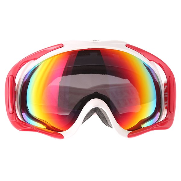 Dirty Dog MX Outrigger White Red Red Fusion Goggles Front