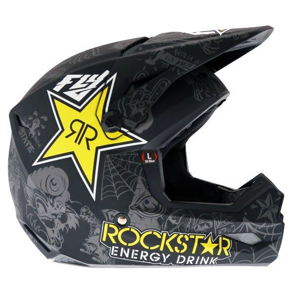 Fly Elite Guild Helmet Rockstar Right Side
