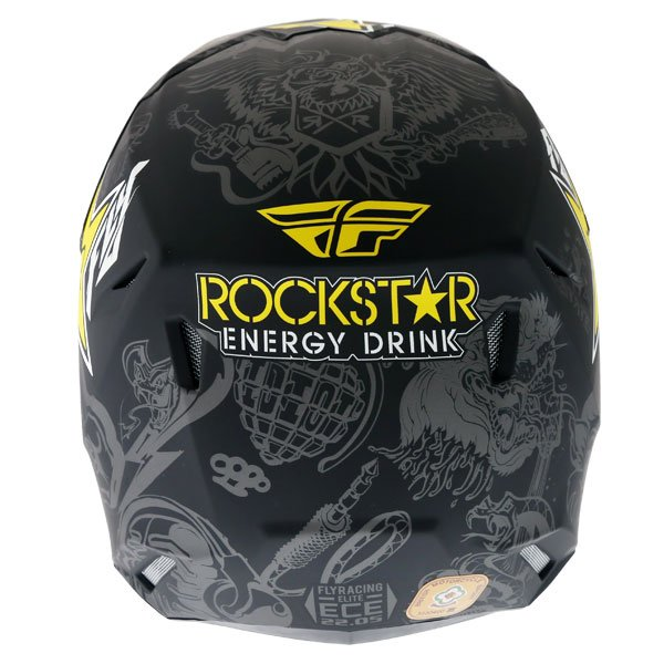 Fly Elite Guild Helmet Rockstar Back