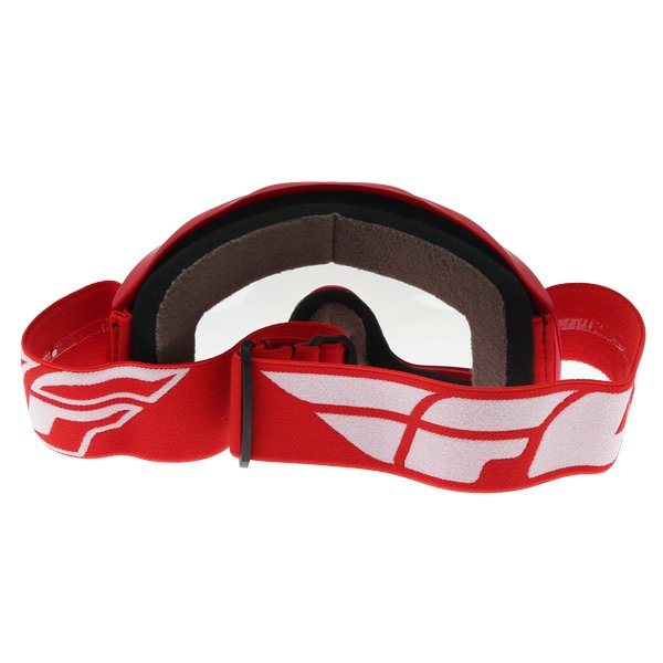 Fly Racing Focus Red Goggles Back
