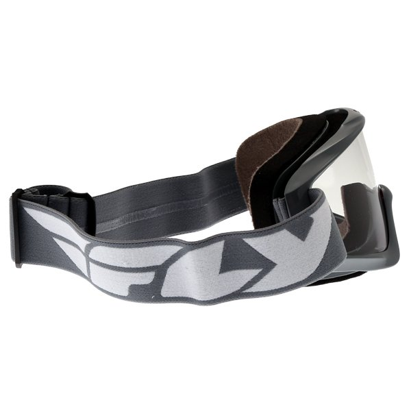 Fly Racing Focus Grey Goggles Right Side
