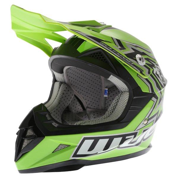 Cub Flite X Helmet Green Kids Motocross Helmets