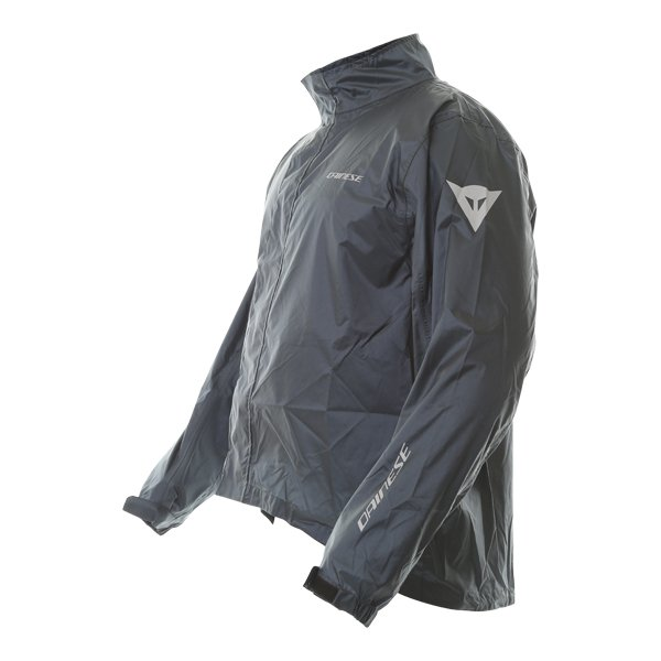 Dainese Rain Anthracite Waterproof Over Jacket Side