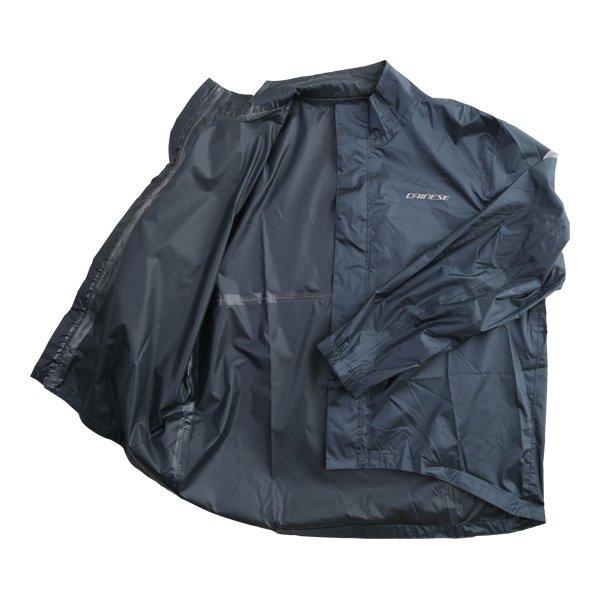 Dainese Rain Anthracite Waterproof Over Jacket Inside