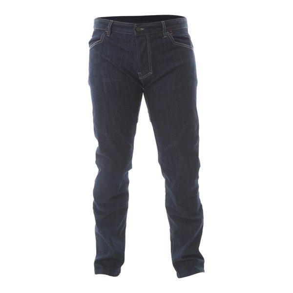 Dainese Tivoli Mens Dark Blue Denim Motorcycle Jeans Front
