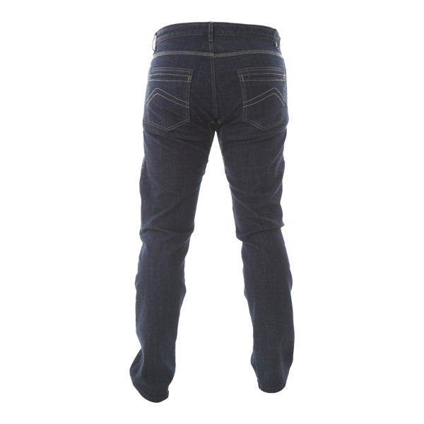 Dainese Tivoli Mens Dark Blue Denim Motorcycle Jeans Rear