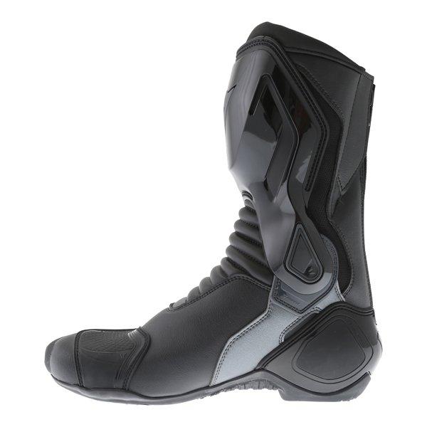 Dainese Nexus Black Anthracite Motorcycle Boots Inside leg