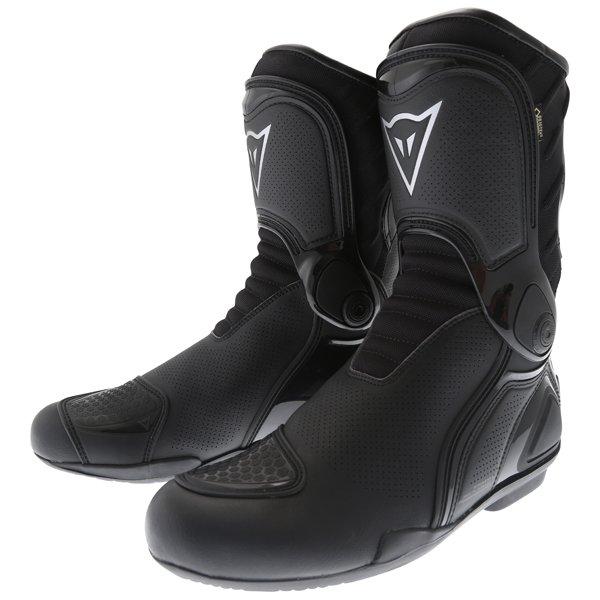 Dainese R Trq-Tour Goretex Black Motorcycle Boots Pair