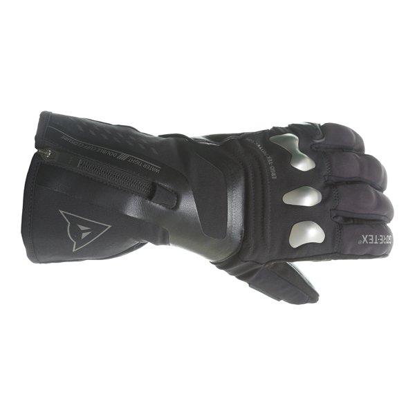 Dainese X-Travel GoreTex Black Waterproof Motorcycle Gloves Back