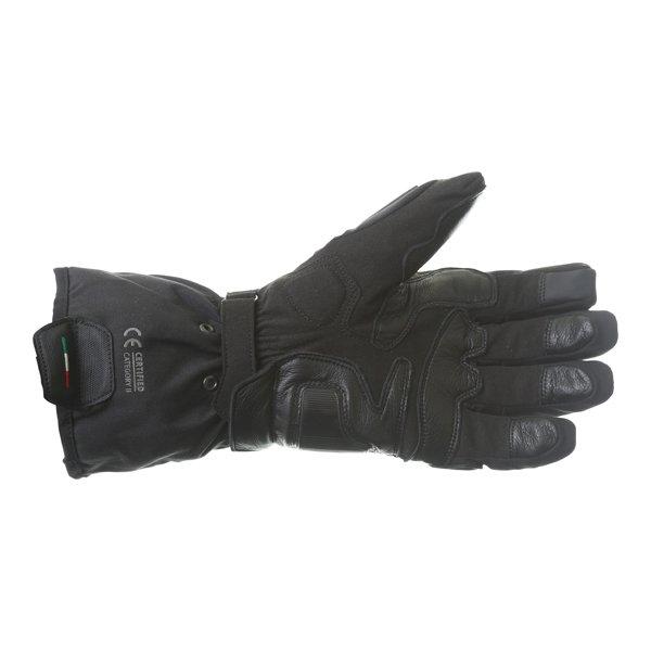 Dainese X-Travel GoreTex Black Waterproof Motorcycle Gloves Palm