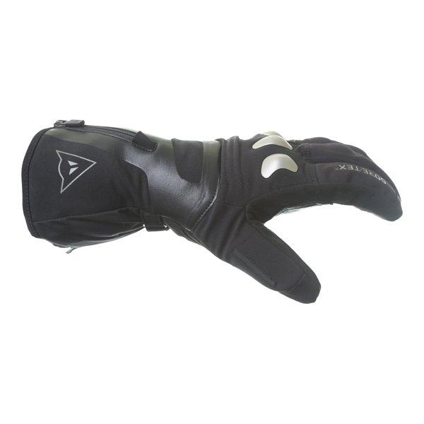 Dainese X-Travel GoreTex Black Waterproof Motorcycle Gloves Thumb side