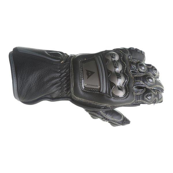 Dainese Full Metal 6 Black Motorcycle Gloves Back