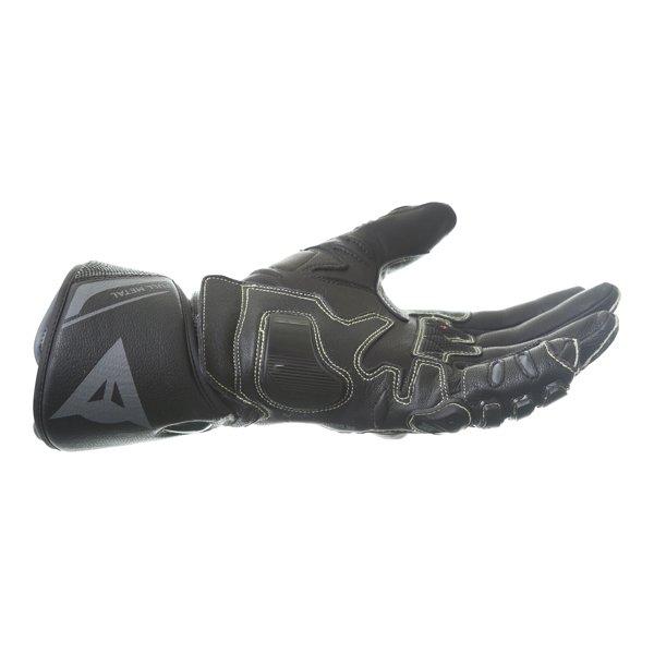 Dainese Full Metal 6 Black Motorcycle Gloves Little finger side