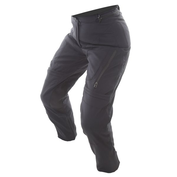 Dainese Carve Master 2 Ladies Black Goretex Textile Waterproof Motorcycle Pants Riding position