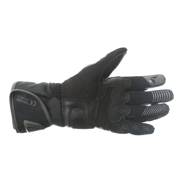 Dainese Carbon D1 Ladies Black Motorcycle Gloves Palm