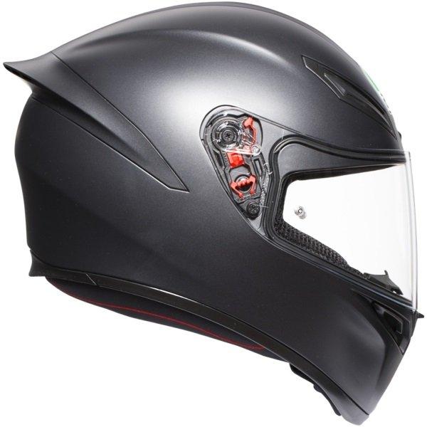 AGV K1 Matt Black Full Face Motorcycle Helmet Right Side