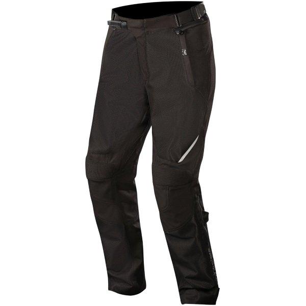 Alpinestars Wake Air Black Textile Motorcycle Pants Front