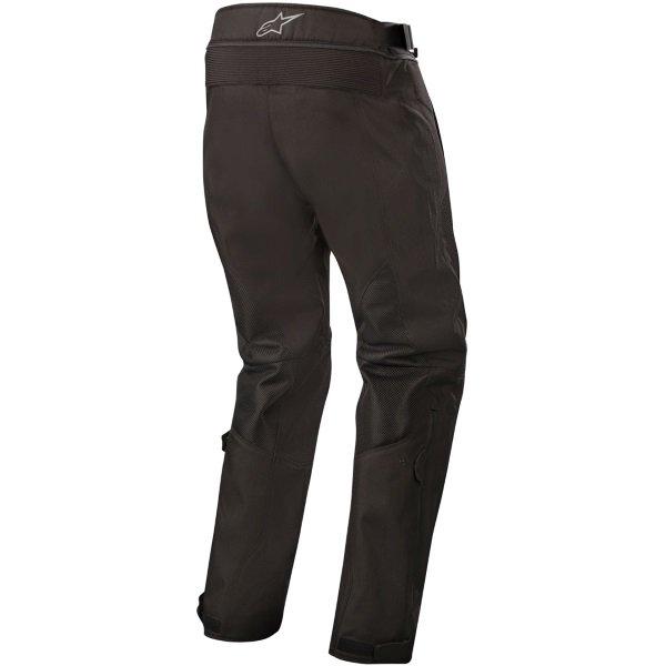 Alpinestars Wake Air Black Textile Motorcycle Pants Rear