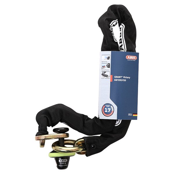 Abus Granit 68 Victory Lock and 12mm x 1.2m Chain
