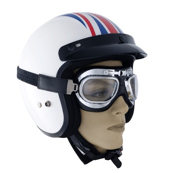 Classic Aviator Goggles Silver Classic Goggles