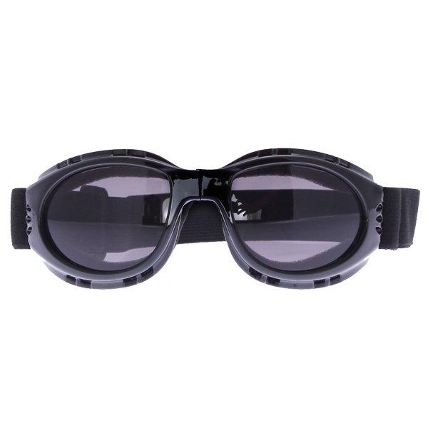 Bike It Black Matrix Scooter Goggles Front