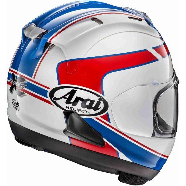 Arai RX-7V Schwantz Design Full Face Motorcycle Helmet Back Right