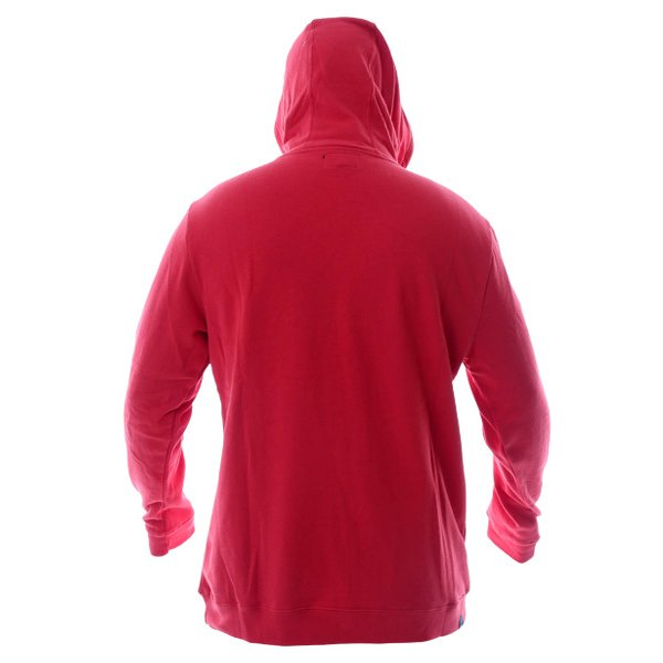 Alpinestars Always Mens Red Fleece Hoodie Back