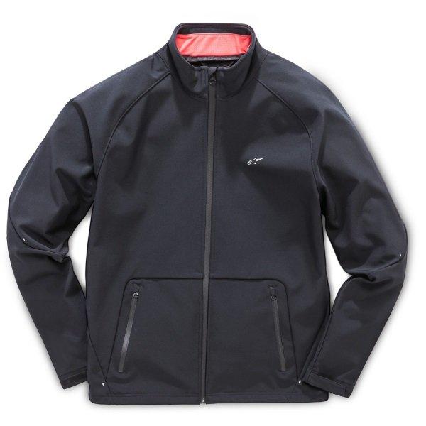 Alpinestars Sector Black Jacket Front