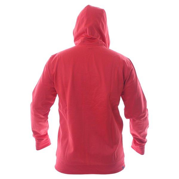 Alpinestars Freeride Mens Red Fleece Hoodie Back
