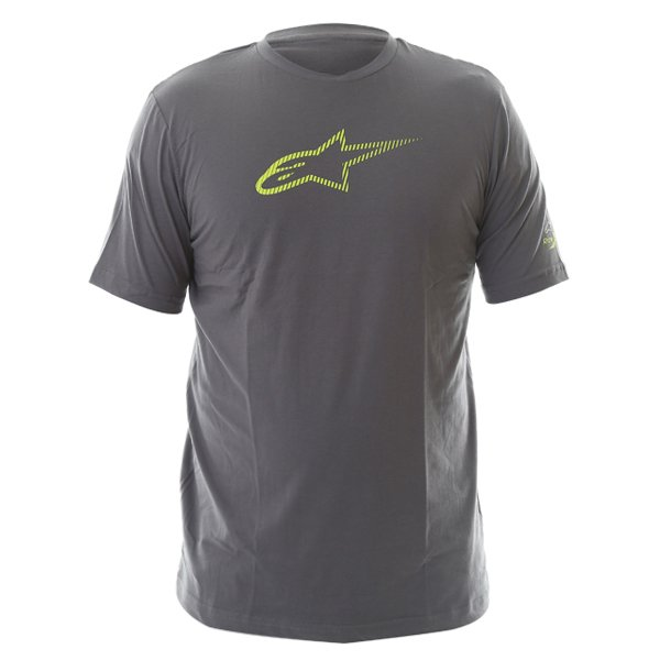 Alpinestars Ageless Tech Mens Grey T-Shirt Front