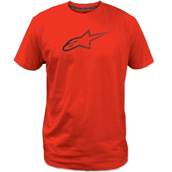 Alpinestars Ageless Tech Mens Red T-Shirt Front