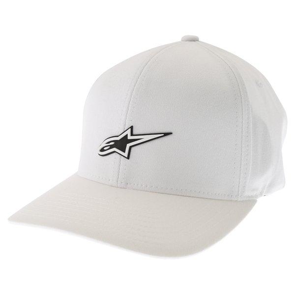 Alpinestars Form White Baseball Cap Front Left