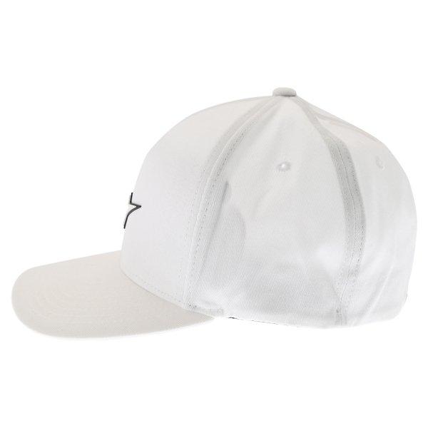 Alpinestars Form White Baseball Cap Left Side