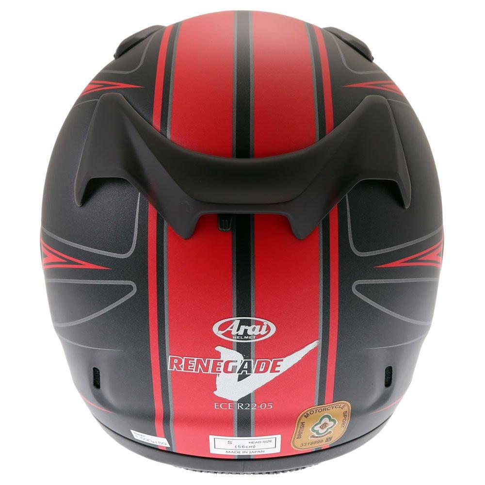Arai Renegade-V Diablo Helmet Red Size: XL
