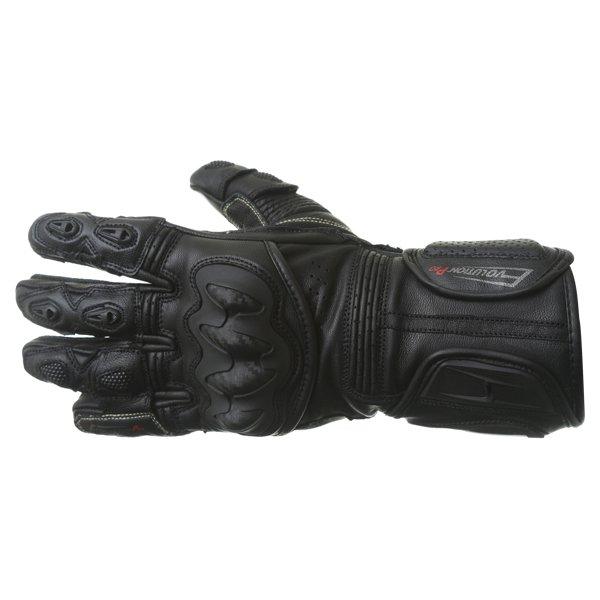 BKS Evolution Pro Race Black Motorcycle Glove Back