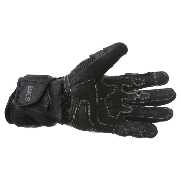 BKS Evolution Pro Race Black Motorcycle Glove Palm