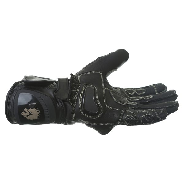 BKS Evolution Pro Race Black Motorcycle Glove Little finger side